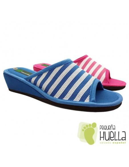 Zapatillas de casa para Mujer ergonómicas Misszapatillas 360