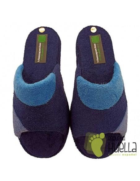 Zapatillas de toalla Mujer ergonómicas Misszapatillas 510