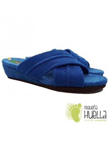 Zapatillas de toalla Mujer ergonómicas Misszapatillas 541