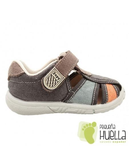 Sandalias Niños Lona Zapy Y70255
