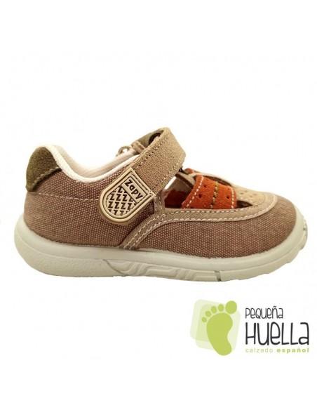 Sandalias Niños Lona Zapy Y70517