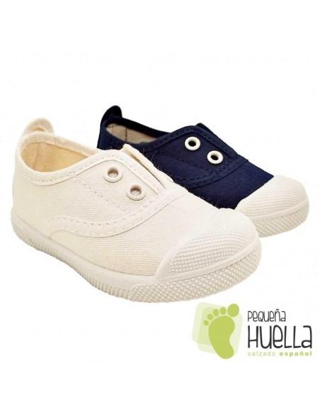 Zapatillas de Lona con elástico Javer 150