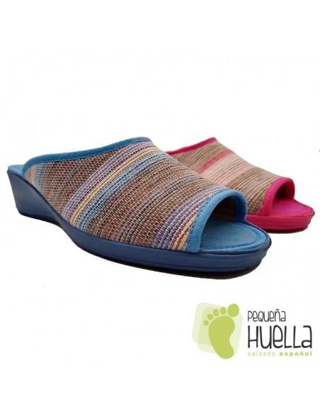 Zapatillas Mujer Cuña, CASA DONA 071