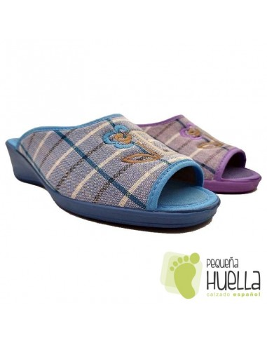 comprar Zapatillas casa para señora con cuña, CASA DONA 070