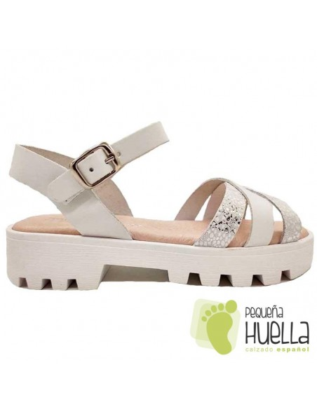 Sandalia Piel para chicas Marichica 498