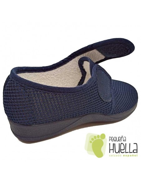 Zapatillas mujer cerradas con velcro Ruiz y Gallego 950