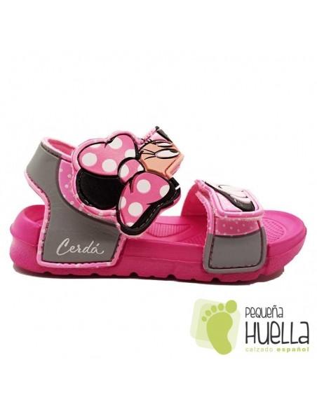 Cangrejeras rosas para niñas Minnie Mouse / Cerdá