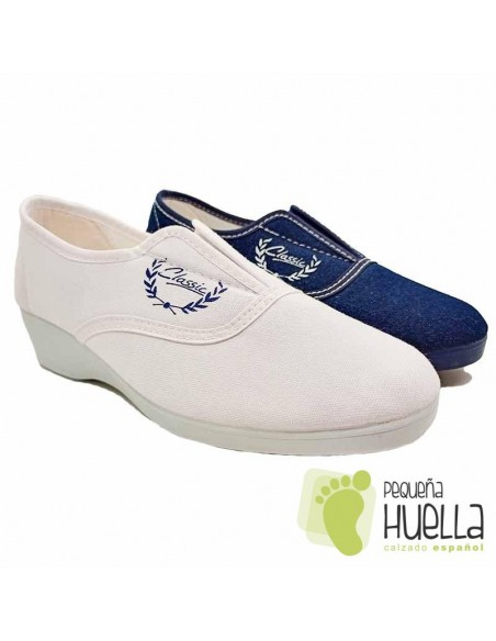 comprar Zapatillas tela para señora Alcalde online