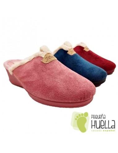 Zapatillas con cuña para Mujer J. Ortega 1808