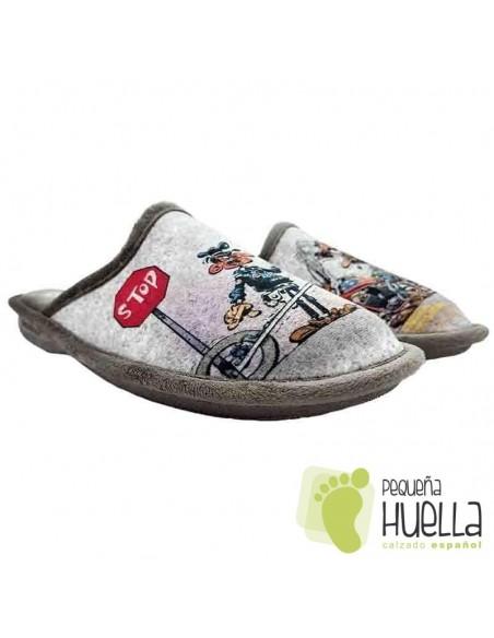 Zapatillas Policía hombre Biorelax 1528