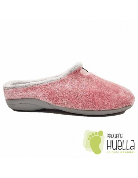 Zapatillas rosas de casa para chica , MUYTER 367