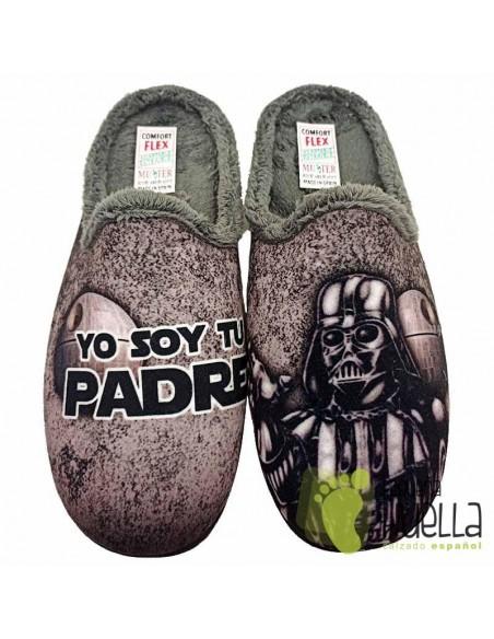 Zapatillas de casa Darth Vader MUYTER 267
