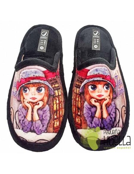 Zapatillas de gel relax para Chicas Javer 34-272