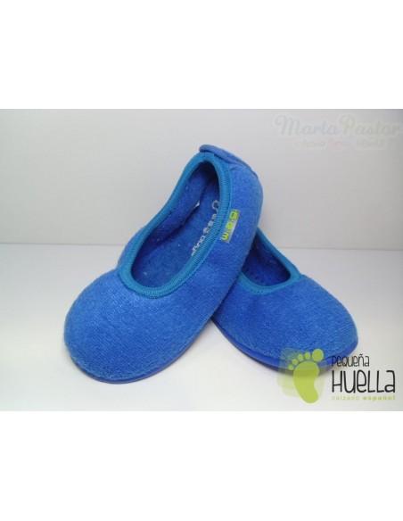 Zapatilla Bailarina Niña Color Azulón