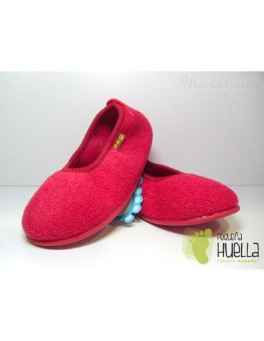 Zapatilla Bailarina Niña Roja