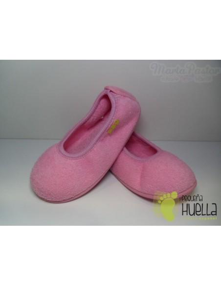Zapatilla Bailarina Niña Rosa