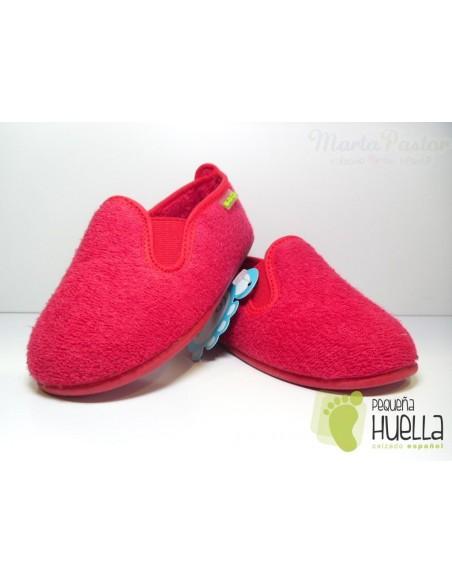 Zapatillas Niño Rojas