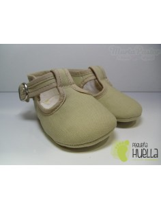 Pepitos Lona Color Beige