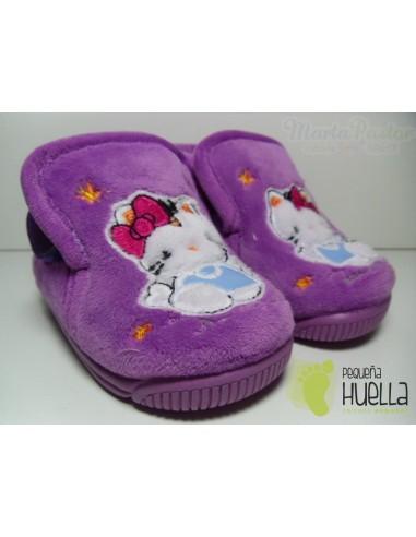 Zapatillas Casa Botita Kitty Malva