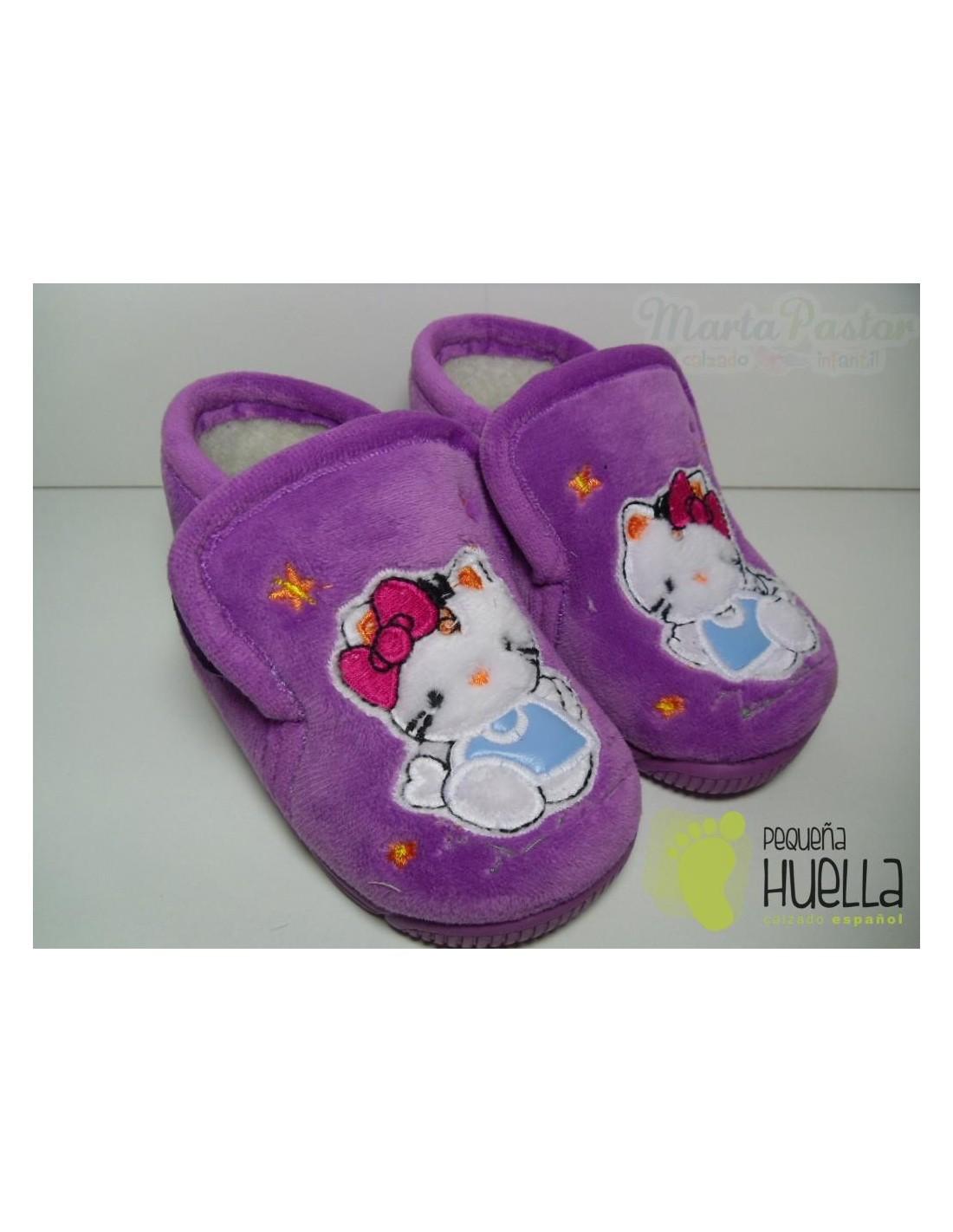 Zapatillas de casa para niña, baratas en las roza