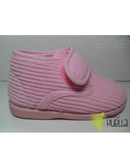 Zapatillas Casa Botitas Pana Rosas