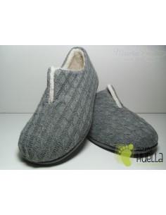 Zapatillas Lana Grises