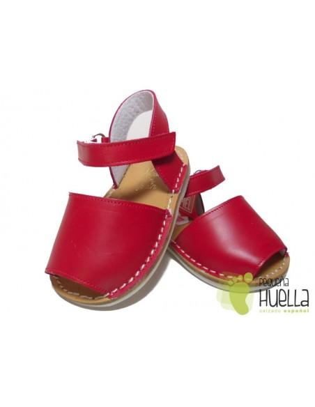 Menorquinas Rojas Bebé