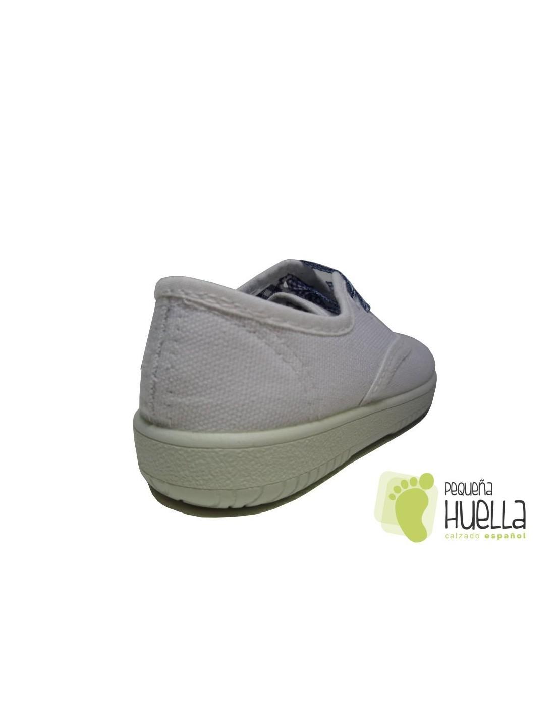Para Online Tipo Zapatillas Lona Victoria Niño Blancas Comprar iuTkOXPZ