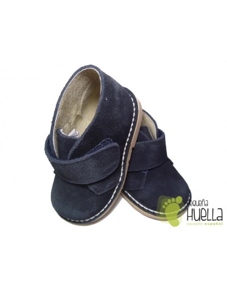 Pisacacas o Pisamierdas  con Velcro Azul Marino