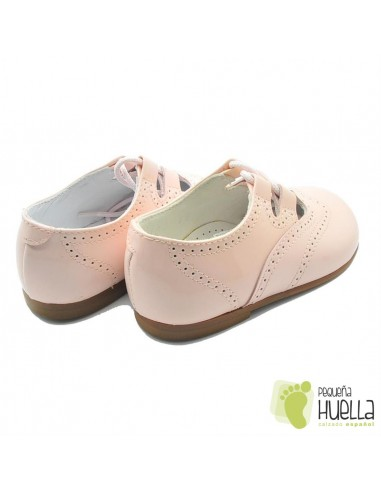 Zapato inglés Piel, sin Lengüeta, Rosa