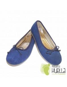 Bailarina Serraje Azul