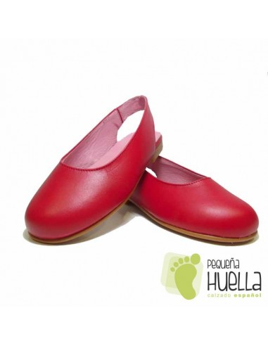 Bailarina Destalonada Piel Roja