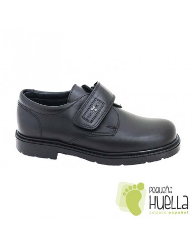 Zapato colegial velcro talla grande