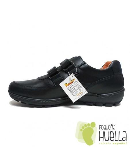 zapatos negro talla grande