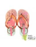 Sandalias o Chancla de Caucho Natural Color Rosa Palo IPANEMA