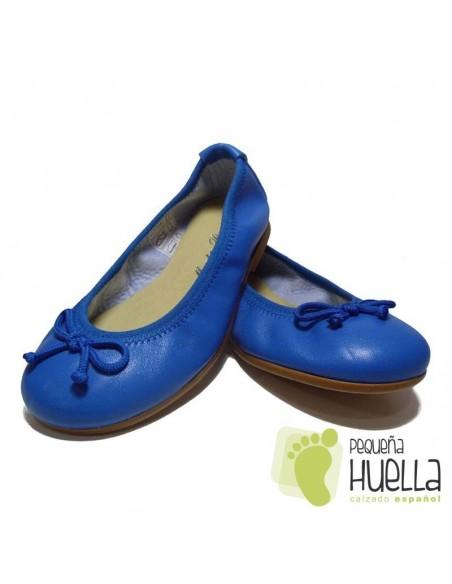 Bailarinas o Manoletinas para niñas de piel azulón en Las Rozas