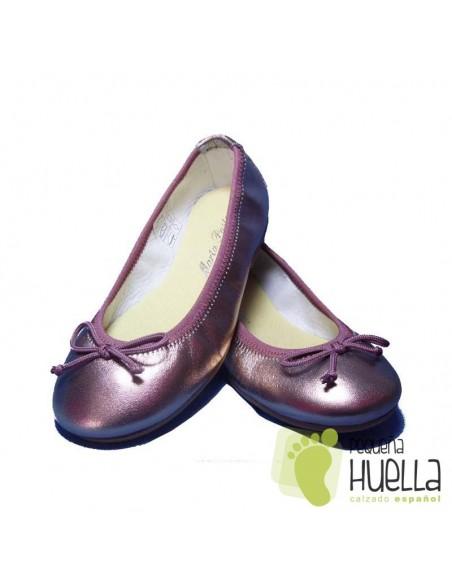 Bailarinas o Manoletinas para niñas de piel cobre cobrizo en Las Rozas