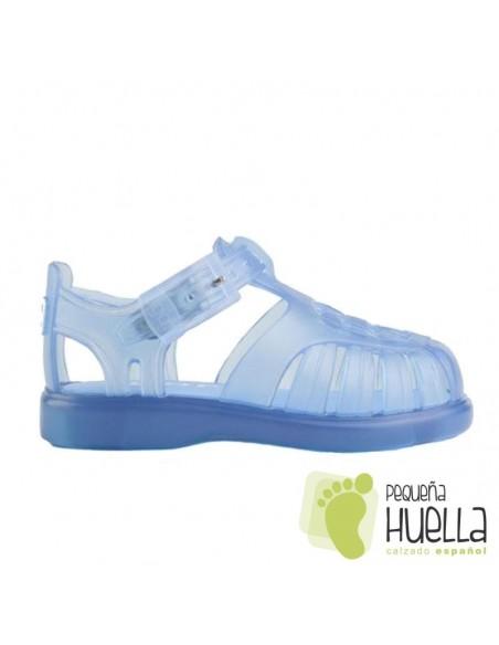 Sandalias  de agua Cangrejeras Goma azules IGOR Tobby Bebe, Niño y Niña, baratas en Las Rozas