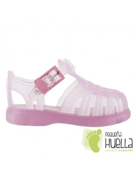 Sandalias  de agua Cangrejeras Goma rosas IGOR Tobby Bebe, Niño y Niña, baratas en Las Rozas