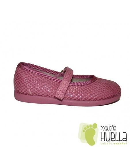 Merceditas Niñas Serratex rosas Cobra Velcro en las rozas