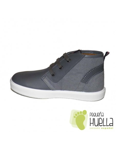 Bota chicos gris Cordones TITANITOS BRONX 710