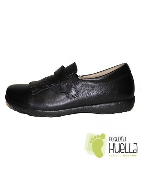 Zapato Colegio Niñas Flecos Yowas 165