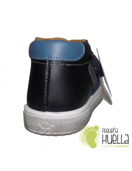 Botas  Velcro azules Niños Niñas Titanitos