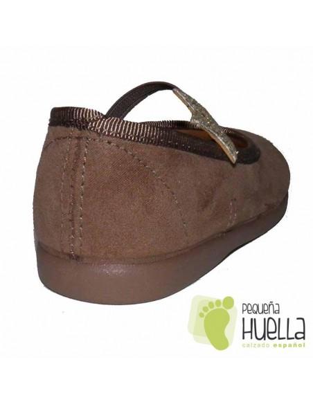 Zapato Niña Marrón Tostado