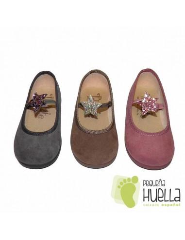 Zapato Niña Estrella Tokolate