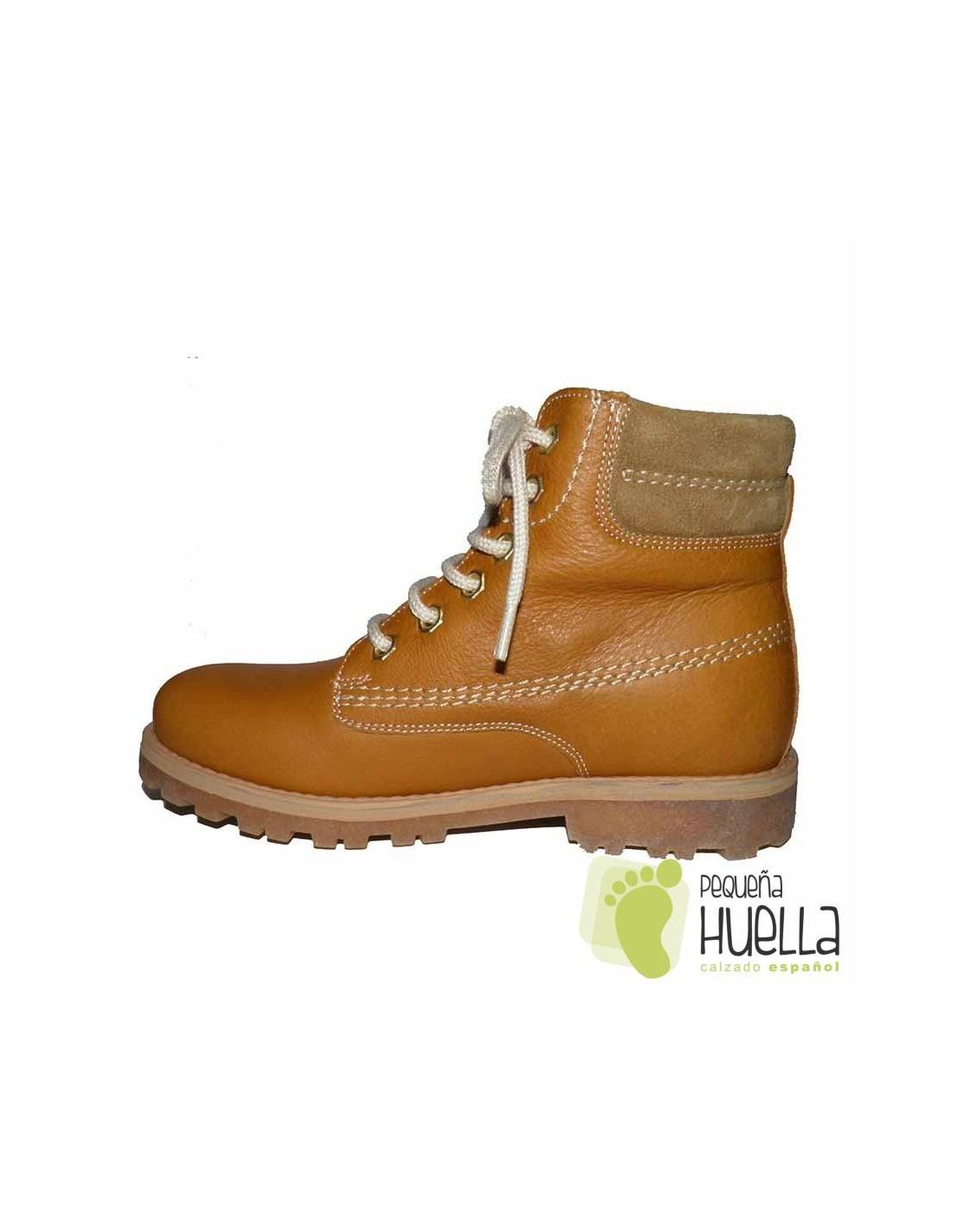 ec46b5af90cb7 Comprar botas de piel para niños tipo Panama de Yowas online
