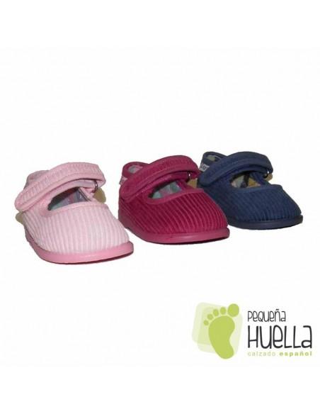 Zapatillas Merceditas Niña Casa ZAPY